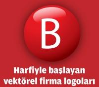 B Harfiyle Başlayan Vektörel Logolar