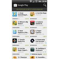 Android Market Sonuna Kadar Açıldı.
