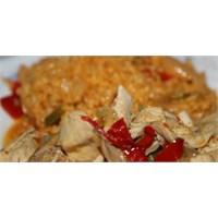 Soğanlı & Biberli Tavuk
