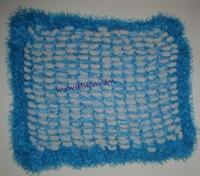Dut İp & Sakallı İpten Bebek Battaniyesi