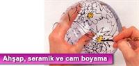 Ahşap, Seramik Ve Cam Boyama