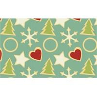 Yeni Yıla Özel Çam Ağacı Patternleri