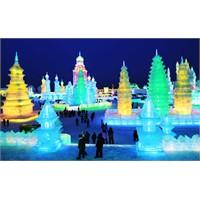 Çin - Harbin Buz Festivali Görüntüleri