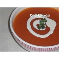Kremalı Közlenmiş Kırmızı Biber Çorbası