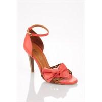 Renkli Topuklu Ayakkabı Modelleri