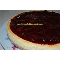 Böğürtlenli Frambuazlı Cheesecake