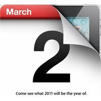 İpad 2 Lansmanı İçin 2 Mart Tarihi Doğrulandı