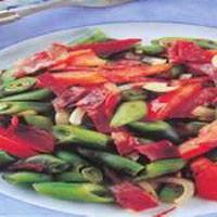 Taze Bakla Salatası