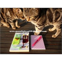 Kedi Ve Baykuş Kitap Ayracı