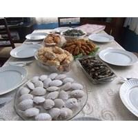 Misafirlerime Hazırladığım Davet Masası