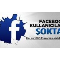 Facebook Kullanıcları Dikkat İzinsz Kullanıma Ceza