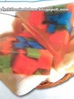 Parçalı Renkli Sabun