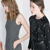 Zara 2014 Kış Elbiseleri