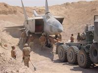 Irak ın Çöle Gömülen Savaş Uçakları.