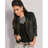 Metal Ayrıntılı Ceketler