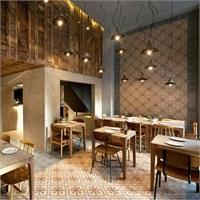 K-studio'dan Atina'da Capanna Restaurant Aydınlatm
