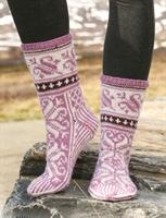 Sıcacık Örgü Çoraplar