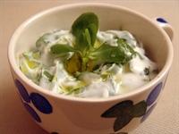 Peynir Soslu Semizotu Salatası