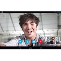 Skype'ın Android Uygulaması Yenilendi!