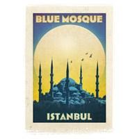 Türkiye Posterleri: Sultanahmet Camii