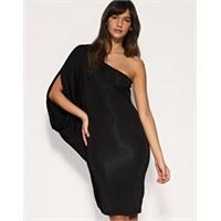 2013 Koleksiyonu Tek Kollu Elbise Modelleri