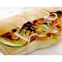 Leziz Karidesli Peynirli Sandviç