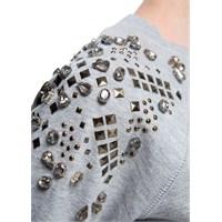 Moda: Taşlı Sweatshirt