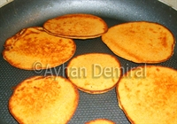 Tavada (sacda Fetir) Mısır Ekmeği