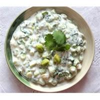 Taze Nohut Salatası