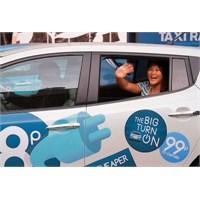 Nissan Leaf: Dünyanın En Ucuz Taksisi!