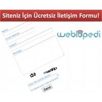 Sitenize Ücretsiz İletişim Formu Ekleyin!