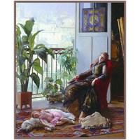 Belçikalı Ressam Gustave Leonhard De Jonghe
