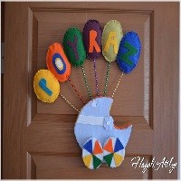 Keçe Kapısüsü- Balon Araba