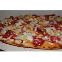 Yufka İle Tavada Pizza