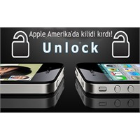 Apple Amerika'da Unlocked İphone 4 Satışına Başlad