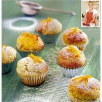Haşhaş Tohumlu Portakallı Mini Muffin Tarifi