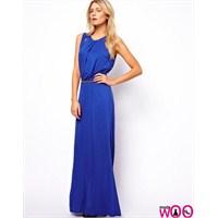 Mavi Elbiseler Çok Moda