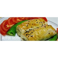 Mantarlı-kaşarlı Milföy Börek