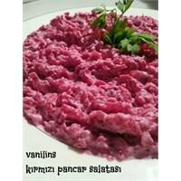 Kırmızı Pancar Salatası Nasıl Yapılır