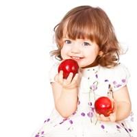 Çocuklar, Açık Havada Dolaşmalı Taze, Sebze Meyve