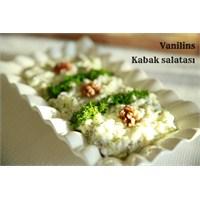 Kabak Salatası Nasıl Yapılır