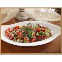 Nursevince Kuru Börülce Salatası