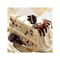 Damla Çikolatalı Beyaz Pasta