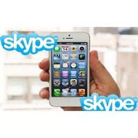İos İçin Skype'a İphone 5 Desteği Geldi