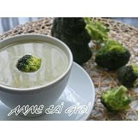 Makarna Suyuna Brokoli Çorbası