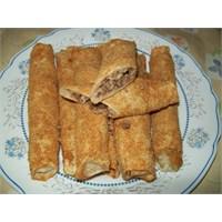 Bulgurlu - Cevizli Börek Yapımı