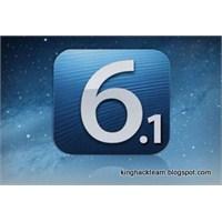 Apple İos 6.0.1 Güncellemesi Çıktı