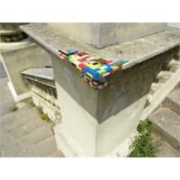 Legolarla Şehre Renkli Yamalar