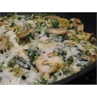 İspanakli-mantarli Omlet Yediniz Mi?