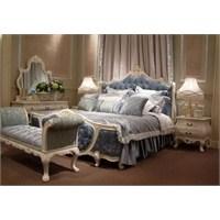 Country Tarzı Yatak Odası Dekorasyonu Örnekleri
